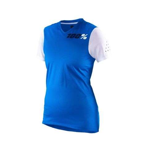 100% Ridecamp Women's Jersey Blue